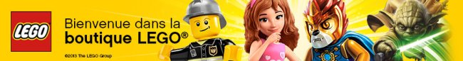 Bannière Lego