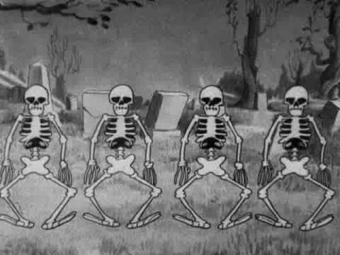 Danse des squelettes et maison hant e disney 1929 guide du parent galactique - Danse de mickey ...
