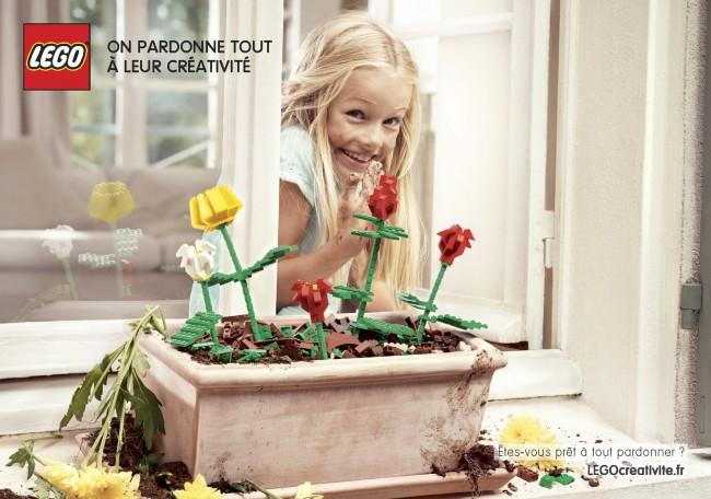 Lego Créativité : les fleurs