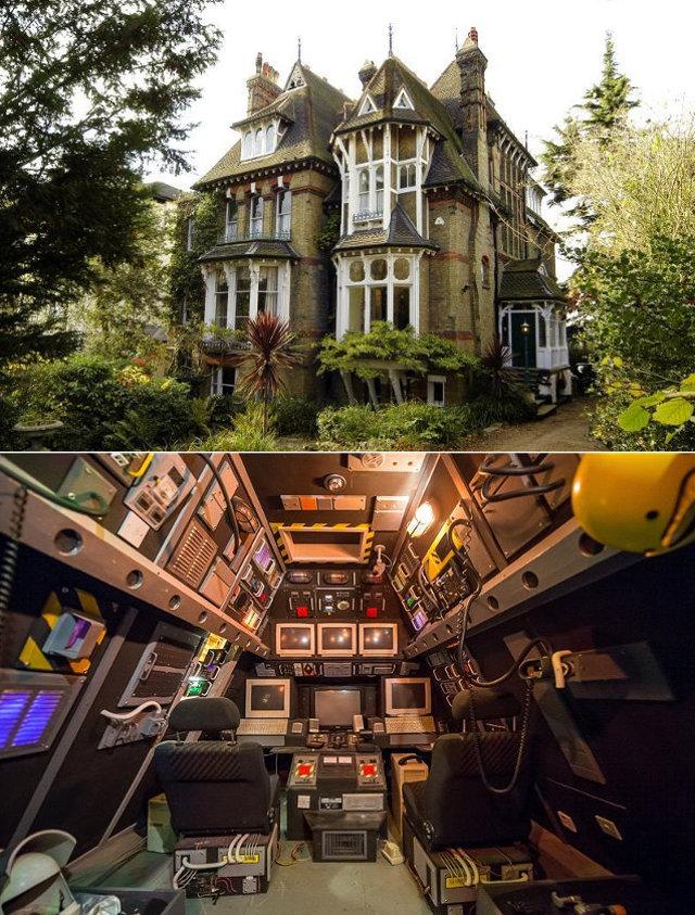 Cherche apt ou maison avec cabine de vaisseau spatial for Cherche maison