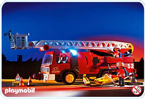 Playmobil - Camion pompiers 1996