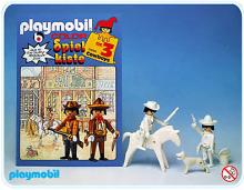 Playmobil - Cowboys à colorier 1979
