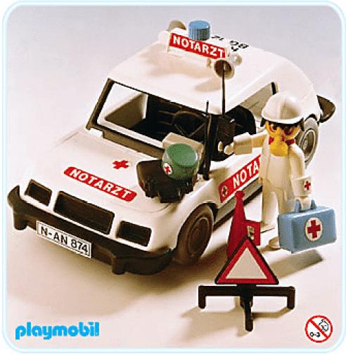 Playmobil - Voiture médecin 1977