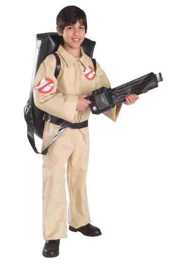 Costume pour enfant Ghostbusters officiel - Env. 60€