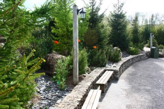 Allées et végétation - Nigloland (3)