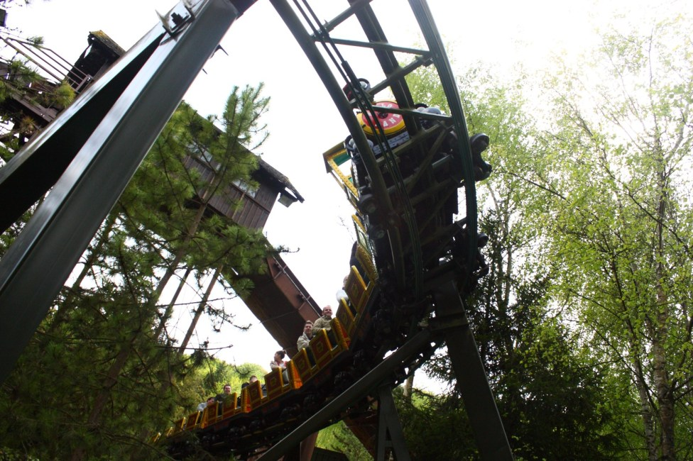 Gold Mine Train - Nigloland (1)