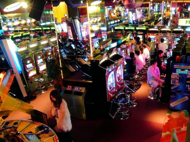 arcade pachinko