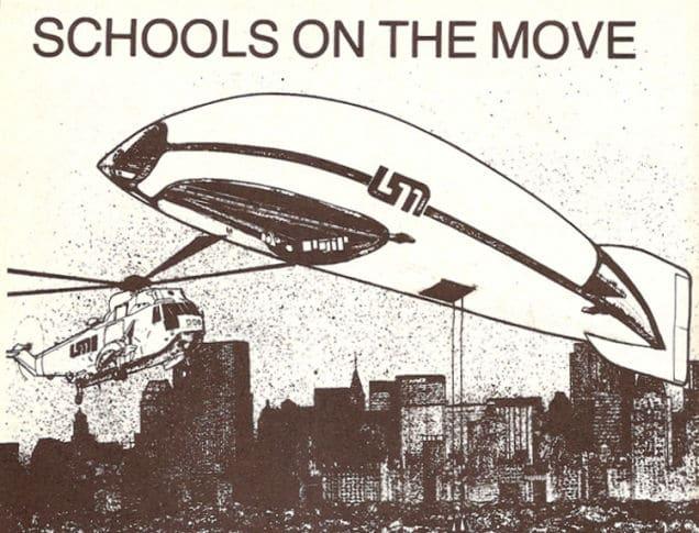 1982 : l'école dirigeable