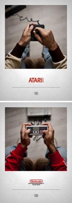 1985 Atari 2600 - 1986 NES