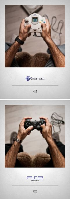 2001 Dreamcast - 2002 Playstation 2