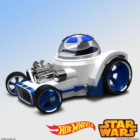 Hot Wheels Star Wars : R2D2