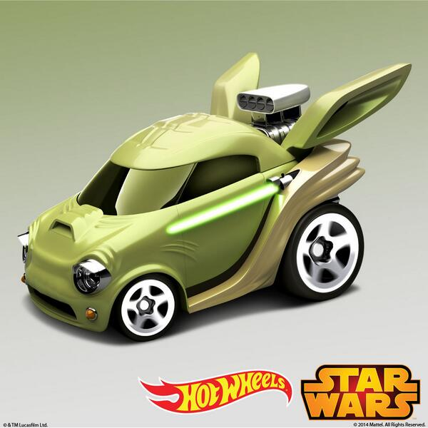 Hot Wheels Star Wars : Yoda