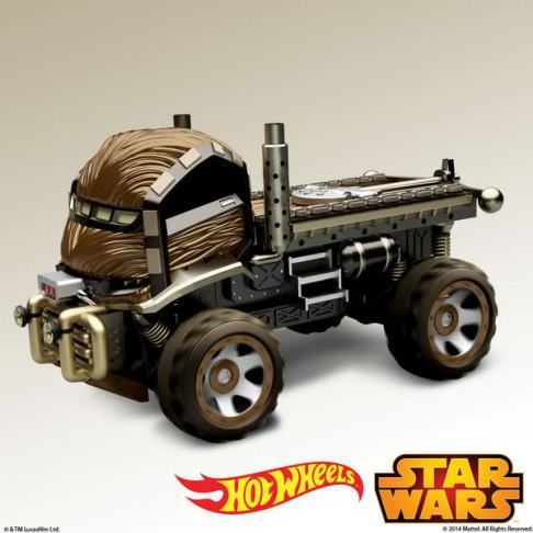 Hot Wheels Star Wars : Chewbacca