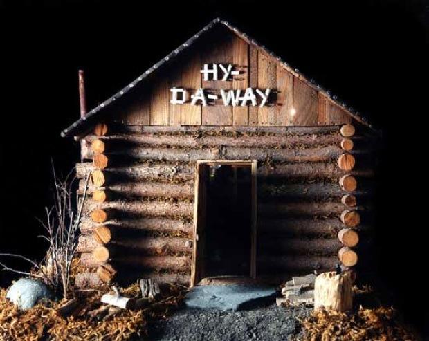 H. Log Cabin
