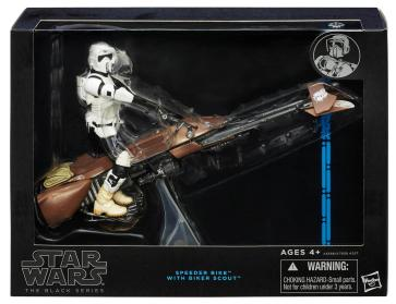 Scout Trooper & Speeder Bike Black Series 6""