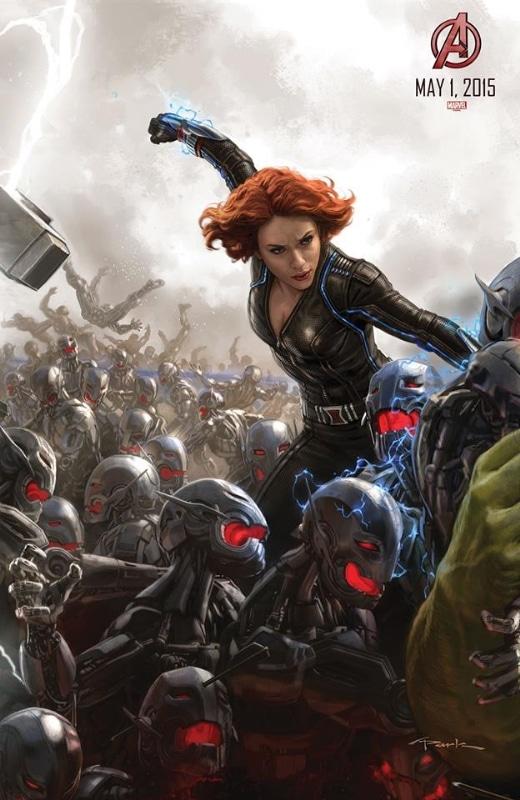 Avengers Age of Ultron - Affiche Veuve Noire