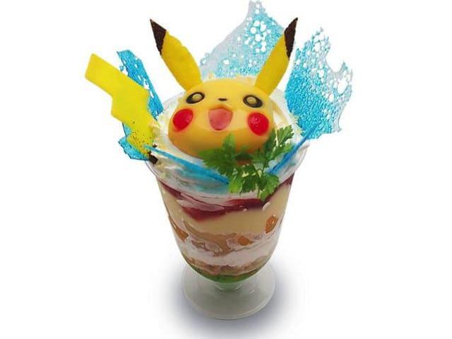 Parfait Pikachu à la mangue