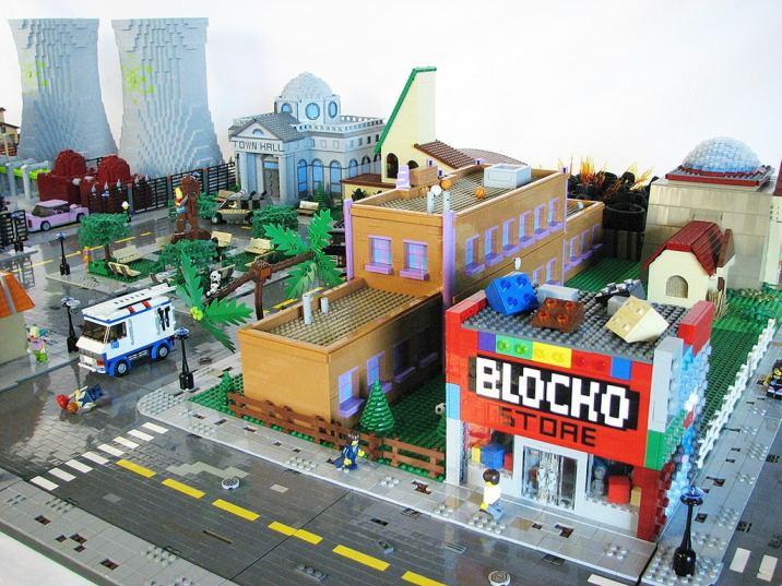Lego Springfield (2)