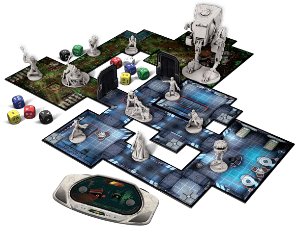 Star Wars Imperial Assault - Plateau de jeu