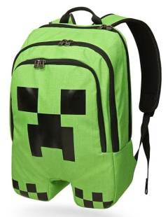 sac à dos creeper minecraft