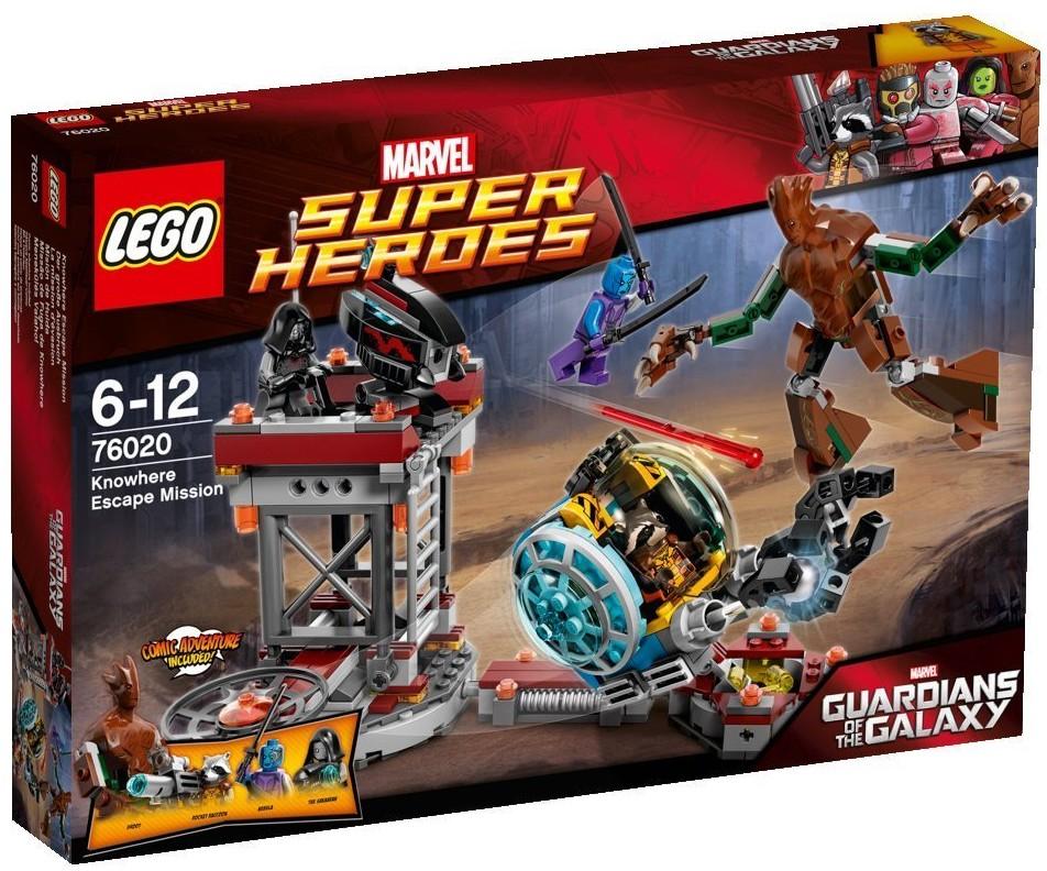 Lego Gardiens de la Galaxie - La mission d'évasion