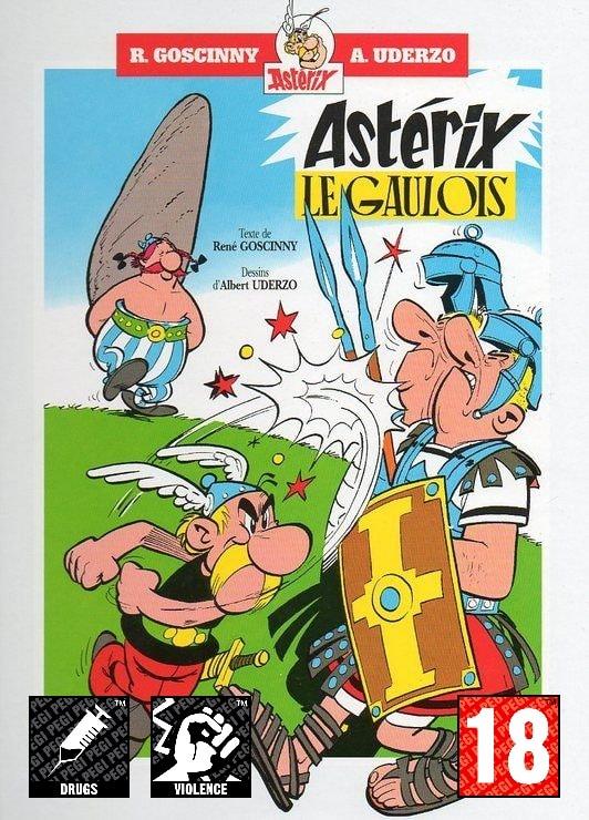 PEGI Asterix le gaulois