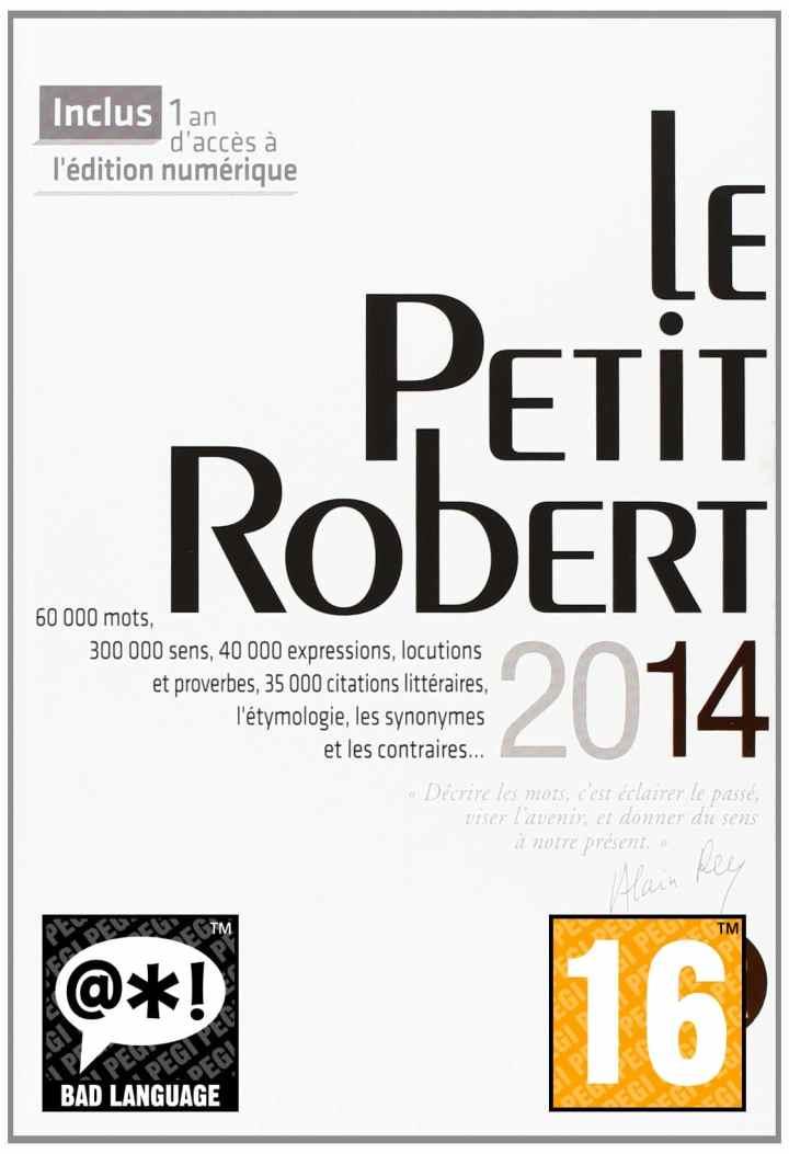 PEGI Le Petit Robert