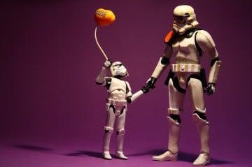Pour les Stormtroopers c'est facile, 2 lettres, 3 chiffres et voilà on a un nom.