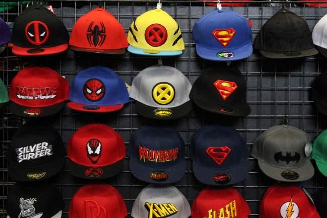 Casquettes super-héros