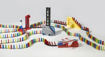 Domino Express - Pas assez de dominos