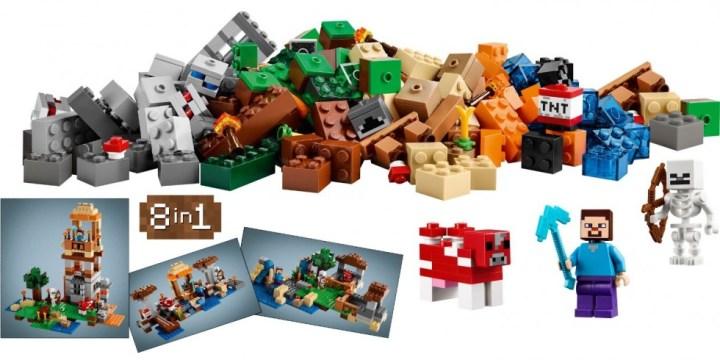 Lego Minecraft - Boite de Construction
