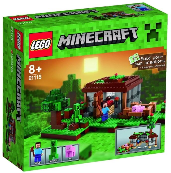 Lego Minecraft La Premiere Nuit