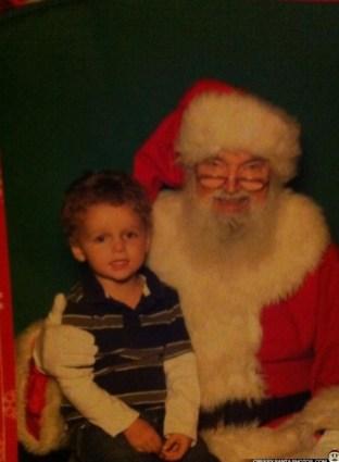 Creepy Santa