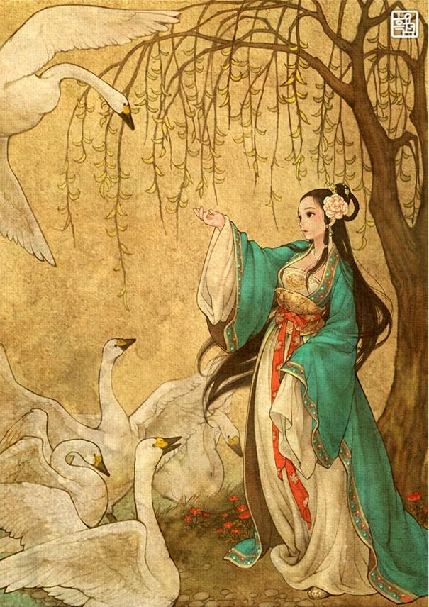 3 - Wild Swans
