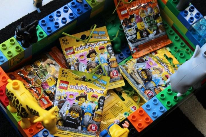 Pêche à la ligne Lego