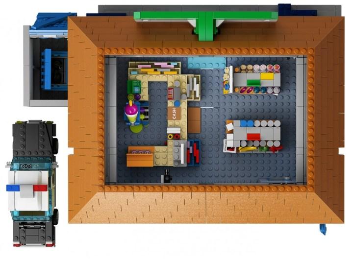 Lego Simpsons - Kwik-E-Mart