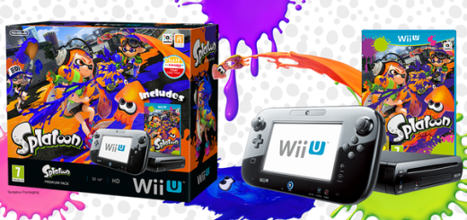 Pack Wii U 32 Go + Splatoon