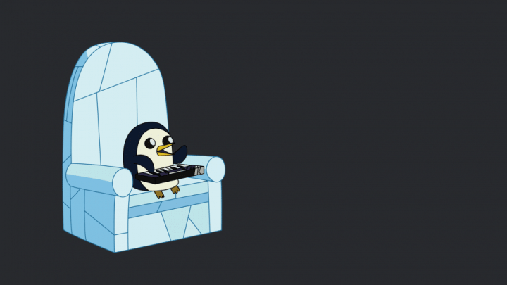 Fond d'écran : Adventure Time - Gunter le Pingouin