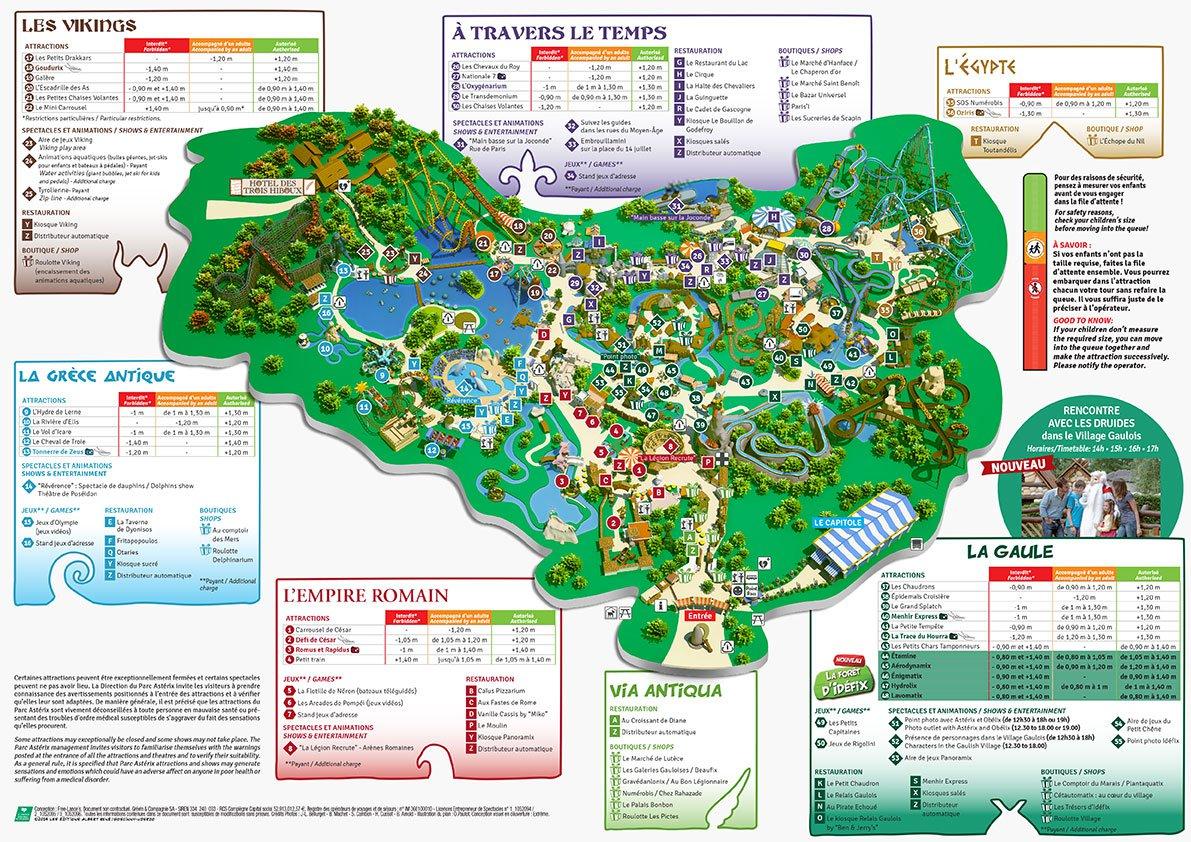 plan parc asterix 2016