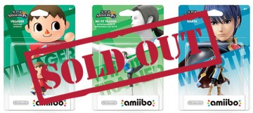 Sold Out Amiibo