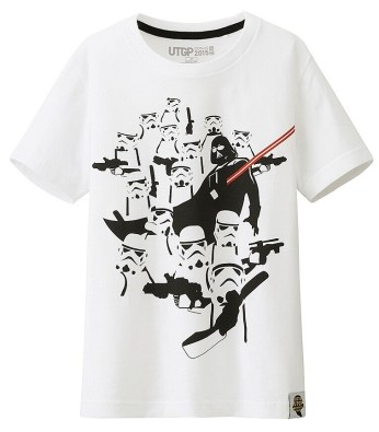 T-Shirt Star Wars Uniqlo Enfant (2)