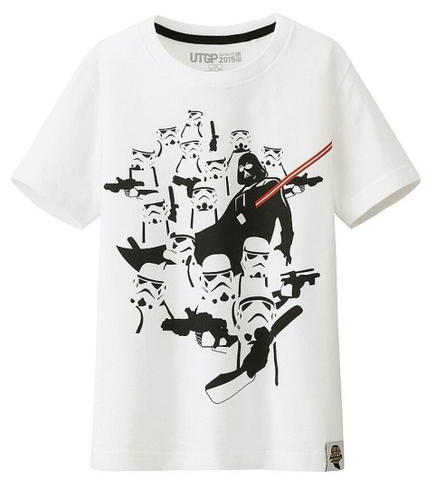 T-Shirt Star Wars Uniqlo Enfant (2)