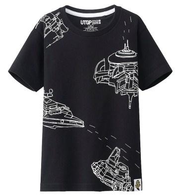 T-Shirt Star Wars Uniqlo Enfant (3)