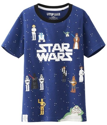 T-Shirt Star Wars Uniqlo Enfant (7)