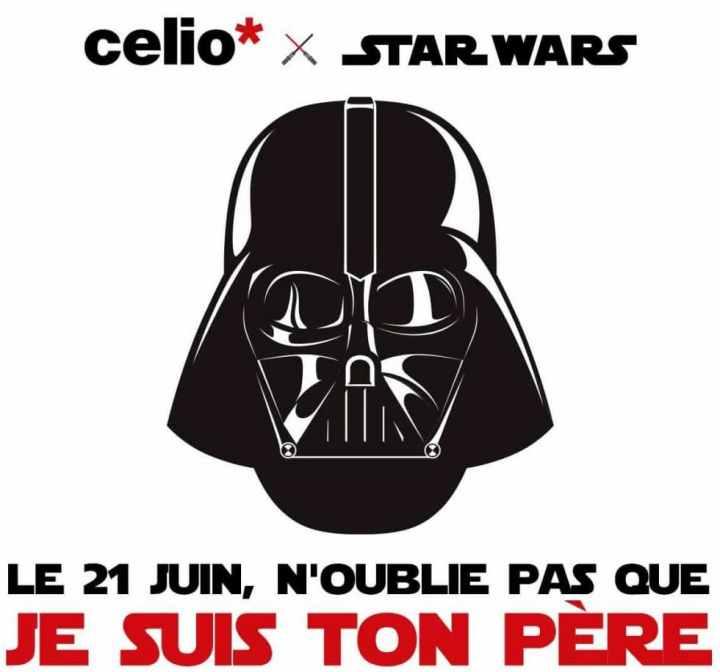 Fête des pères Celio Star Wars