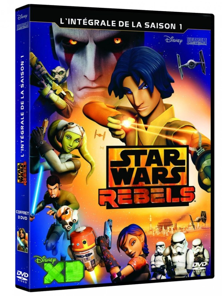 Star Wars Rebels - Saison 1 - DVD