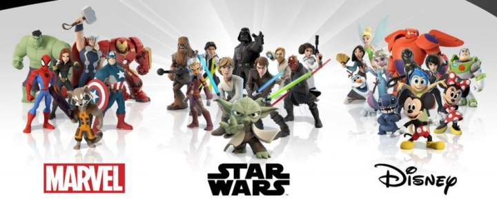 Disney Infinity Personnages