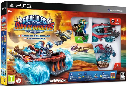 Pack de démarrage Skylanders SuperChargers PS3
