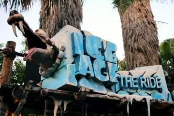 L'Age de Glace, l'attraction. Clairement pas la plus grande réussite du parc...