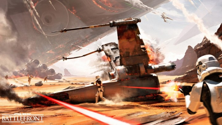 La Bataille de Jakku (concept art)